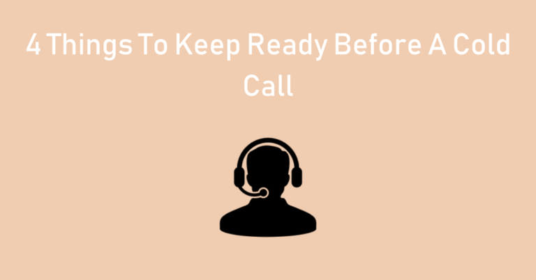 cold calling, the first fork